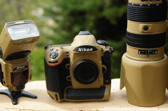 Desert Lizard Camo Nikon gear 5