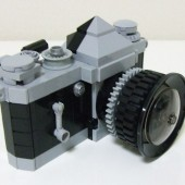 Lego Nikon DSLR camera 3