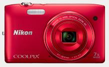Nikon-Coolpix-S3400-camera