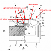 Nikon LED mount lighting patent