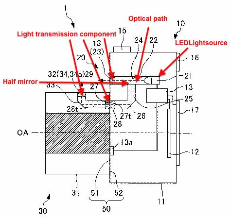 Nikon LED mount lighting patent