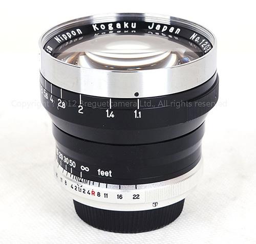 Nikon-NIKKOR-N.C-5CM-f1.1-lens