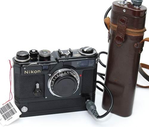 Nikon SP camera black paint