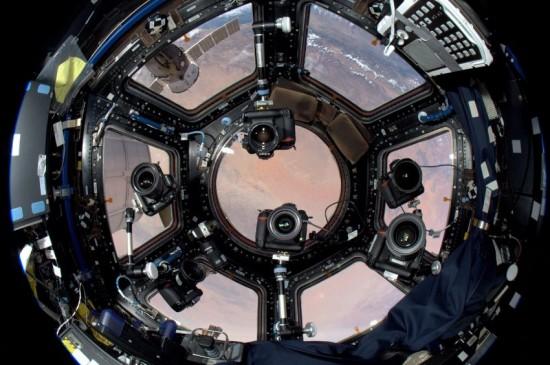 Nikon-gear-in-space-NASA