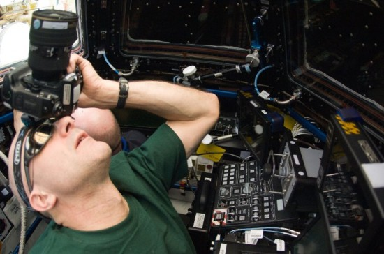 ISS Fotografie / Pettit