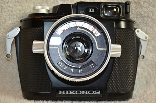 Nikonos-II-Underwater-Camera