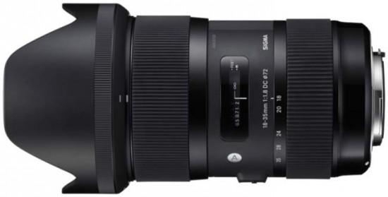 Sigma 18-35mm f/1.8 DC HSM Nikon版即將現
