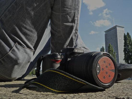 Designed Nikon lens caps 5