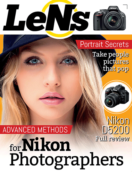 Coming soon: LeNs is a new interactive digital magazine for Nikon