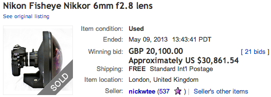 Nikkor-6mm-f2.8-fisheye-lens-sold-for-30k