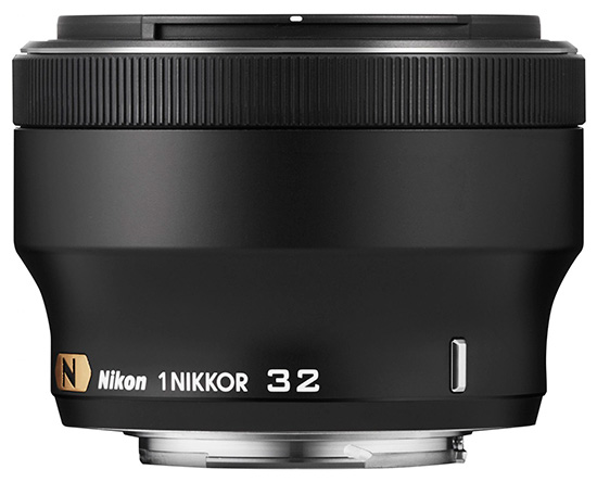Nikon-1-Nikkor-32mm-f1.2-lens-black