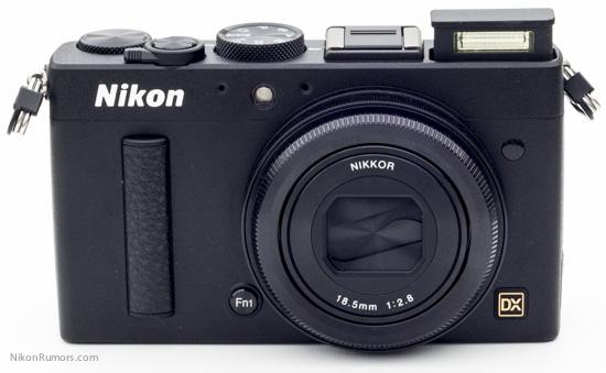 Nikon Coolpix A camera flash