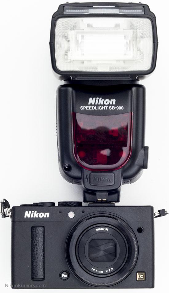 Nikon Coolpix A with SB-900
