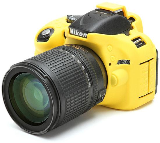 Nikon-D5200-silicone-sleeve