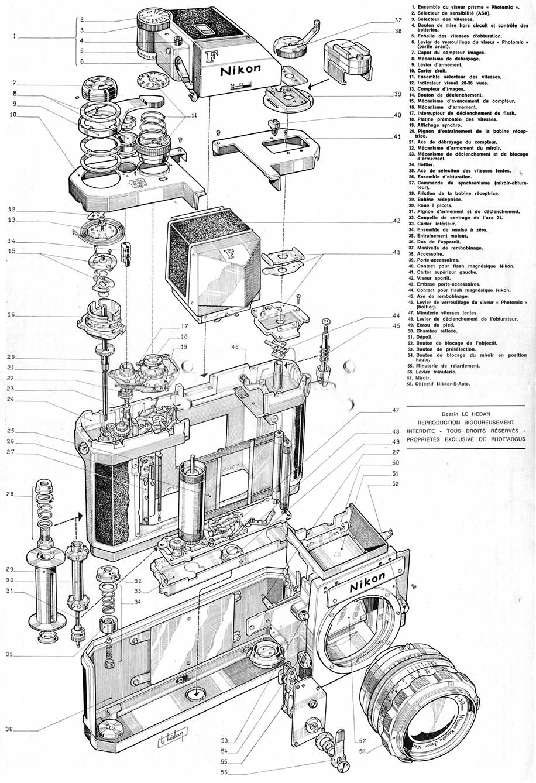 Nikon-F-schematics
