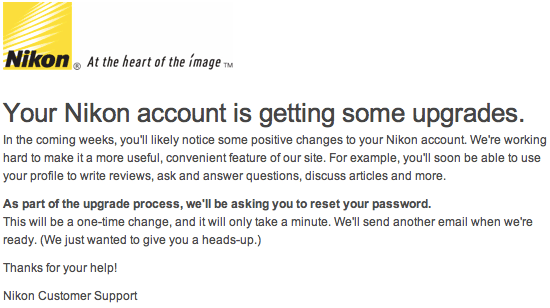 Nikon-account-updates