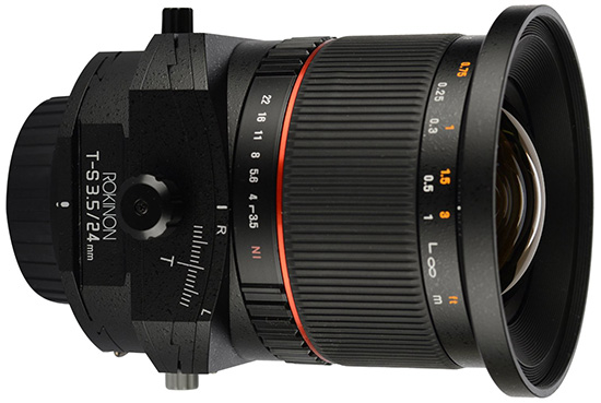 Rokinon-24mm-f3.5-tilt-shift-lens-for-Nikon
