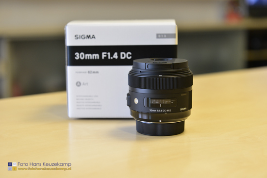 Sigma 30mm f1.4 DC HSM lens for Nikon 1