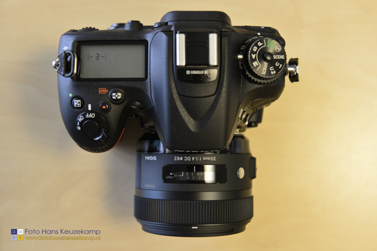 Sigma 30mm f1.4 DC HSM lens for Nikon 5