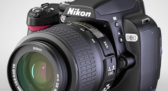 Keyshot-Nikon-D60-rendering