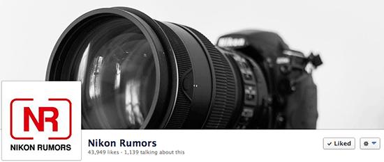 Nikon-Rumors-Facebook-page