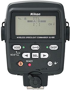 Nikon-SU-800--Wireless-Speedlight-Commande