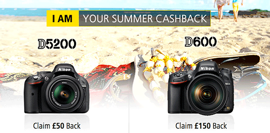 Nikon-UK-summer-cashback