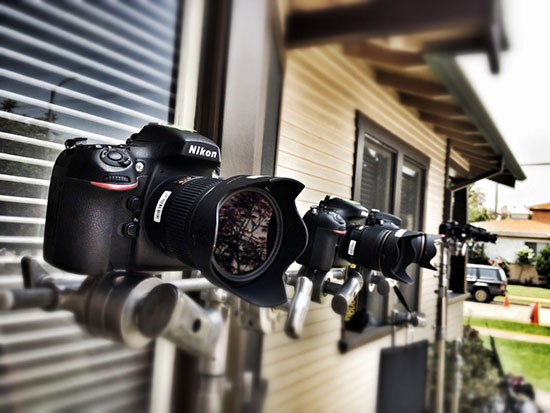 Nikon-cameras-on-the-set-of-Wilfred