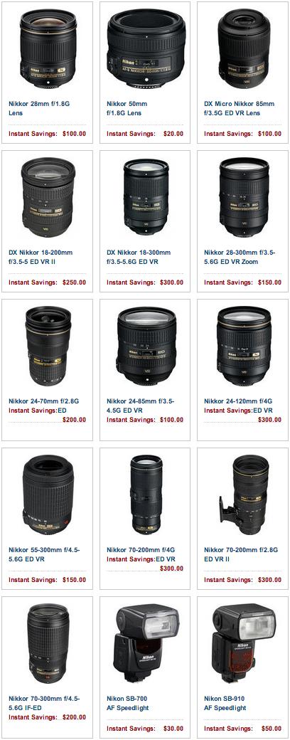 Nikon-instant-rebates-June-2013