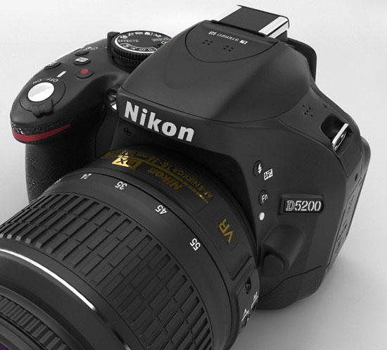 Nikon_D5200_3D_model