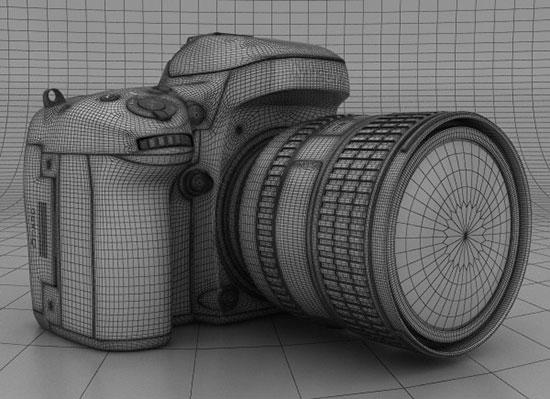 Nikon_D600_3D_model