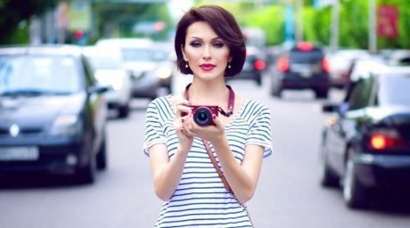 Singer Lido has become the new face of Nikon in Kazakhstan