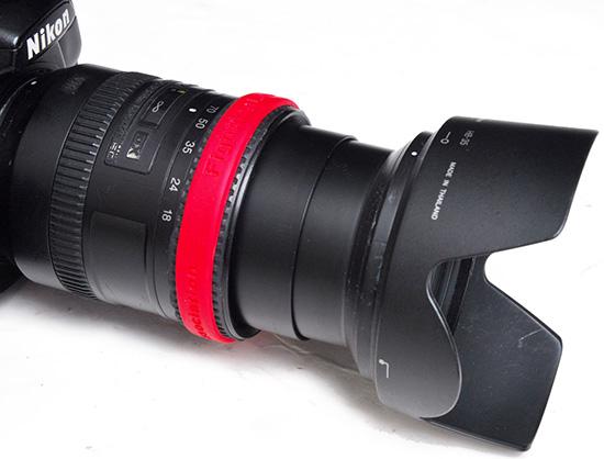 Lens-silicon-lens