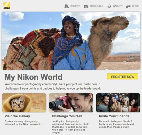 My-Nikon-World-Facebook-app