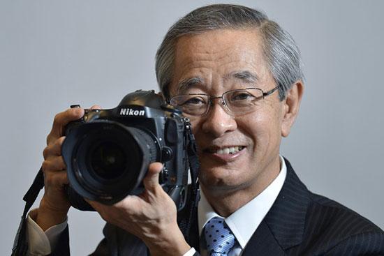 Nikon President Makoto Kimura (Bloomberg)