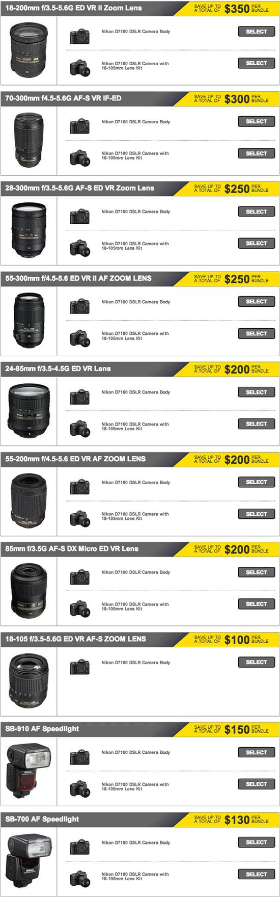 Nikon-instant-rebates-July
