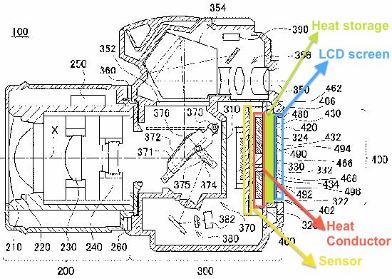 Nikon-removable-heat-storage-patent