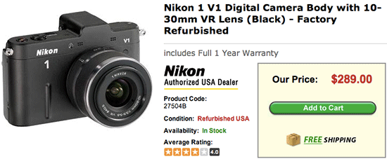 Refurbished-Nikon-1-V1-camera-sale