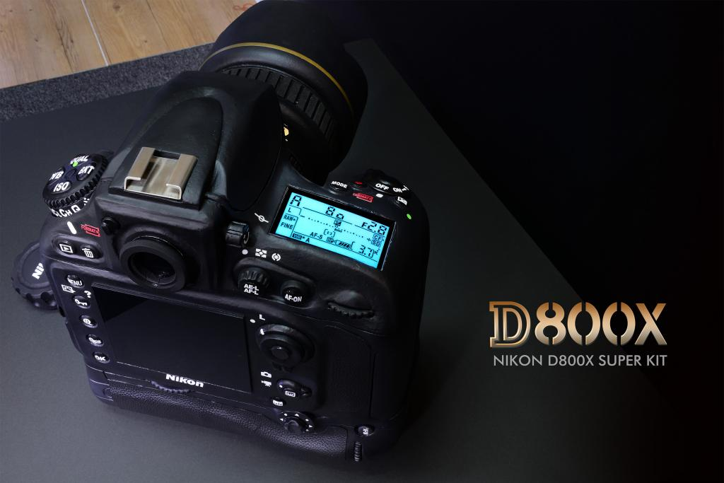 "This ""Nikon D800x super kit"" camera sculpture is huge"