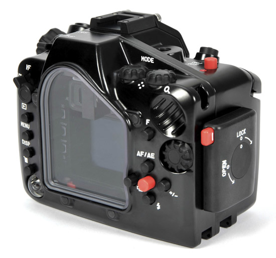 Nauticam NA-V2 underwater housing for Nikon 1 V2 3