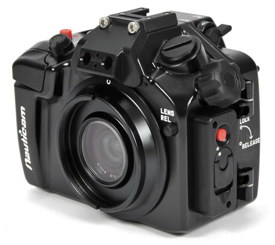 Nauticam NA-V2 underwater housing for Nikon 1 V2 6