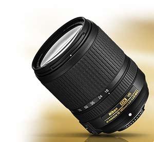 Nikon 18–140mm f:3.5-5.6G lens