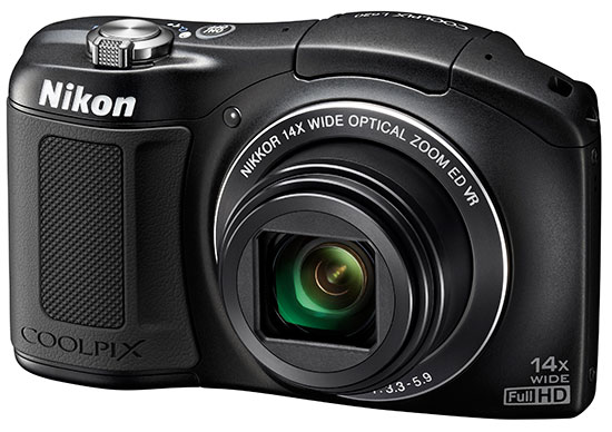 Nikon-Coolpix-L620-camera-black