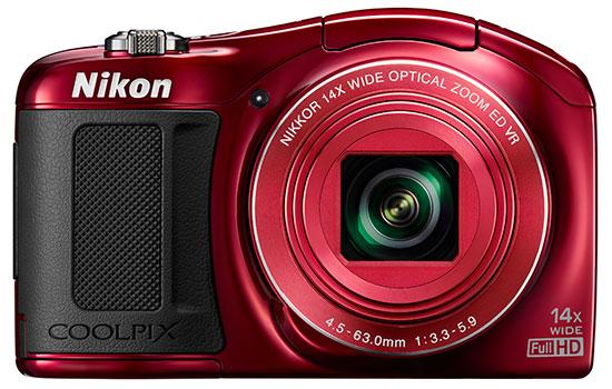 Nikon-Coolpix-L620-camera-front