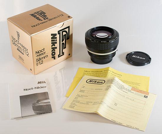 Nikon-Noct-Nikkor-58mm-f1.2-AI-S-lens