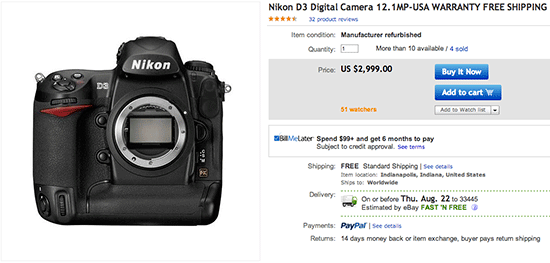 Refurbished-Nikon-D3-DSLR-camera-deal