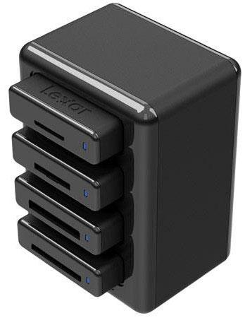 Lexar-four-bay-USB-3.0-reader-hub