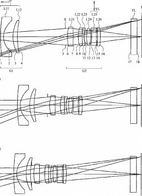 Nikon 1 11-28mm f:3.5-5.4 VR lens patent