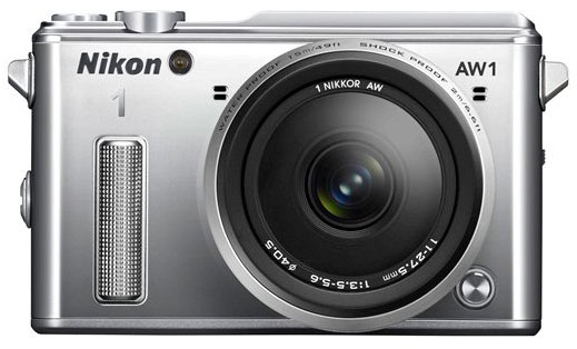 Nikon-1-AW1-camera-front