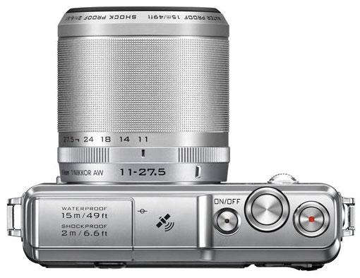 Nikon-1-AW1-camera-top